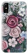Floral Boom IPhone Case