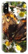 Floral Buckeye IPhone Case
