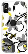Floral Collision IPhone Case