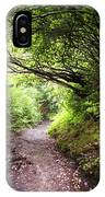 Floral Confetti On The Trail IPhone Case