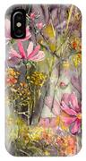 Floral Cosmos IPhone Case