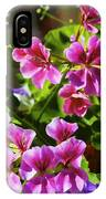 Floral Design 5 Dark IPhone Case