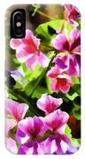 Floral Design 5 Light IPhone Case