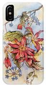 Floral Display 1 IPhone Case