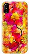 Floral Duet IPhone Case