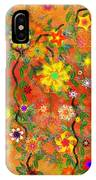 Floral Fantasy 122110 IPhone Case