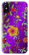 Floral Fantasy 122410 IPhone Case