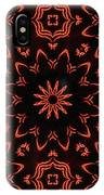 Floral Fire Tapestry IPhone Case