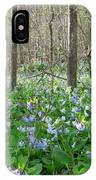 Floral Forest Floor IPhone Case