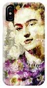 Floral Frida Vii IPhone Case