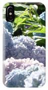 Floral Garden Art Prints Blud Hydrangea Flowers IPhone Case