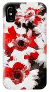 Floral Hotty Totty IPhone Case