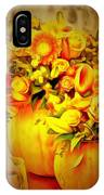 Floral In Ambiance IPhone Case