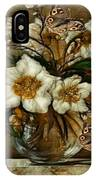Floral In Glass Vase IPhone Case