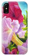 Floral In Pinks IPhone Case