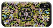 Floral Mandala Pattern IPhone Case