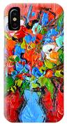 Floral Miniature - Abstract 0115 IPhone Case