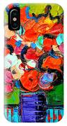 Floral Miniature - Abstract 0315 IPhone Case