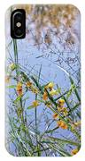 Floral Pond  IPhone Case