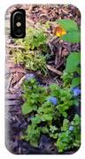 Floral Print 003 IPhone Case