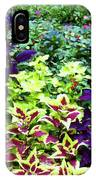 Floral Print 005 IPhone Case