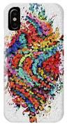 Floral Splash 2 IPhone Case