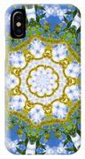 Floral Sun IPhone Case