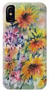 Floral Symphony IPhone Case