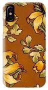 Floral Textile Design IPhone Case