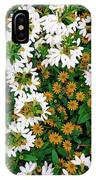 Floral Texture In The Summer IPhone X Case
