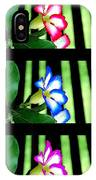 Floral Triptych IPhone Case