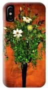 Floral Wall Arrangement IPhone Case