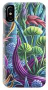 Floral Whirl IPhone Case