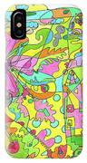 Floral World IPhone Case