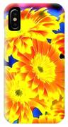 Floral Yellow Painting Lit IPhone Case