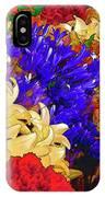 Flores Y Lilas IPhone Case