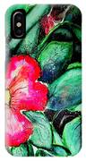 Florida Flower IPhone Case