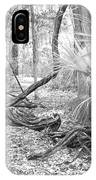 Florida Garden Scene_012 IPhone Case