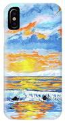 Florida Keys Beach Sunset IPhone Case