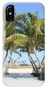 Florida Palms At Beach IPhone Case