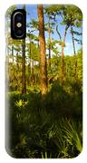 Florida Pine Forest IPhone Case