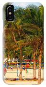 Florida Style Volleyball IPhone Case