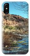 Flow Of The Verde River IPhone Case