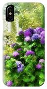 Flower - Hydrangea - Lovely Hydrangea  IPhone Case