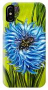 Flower And Bee Oil Painting IPhone Case
