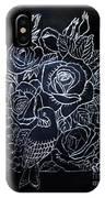 Flower And Bird Scratch Board IPhone Case