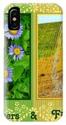 Flower And Fields IPhone Case
