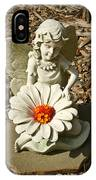 Flower Angel IPhone Case