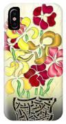 Flower Basket IPhone Case