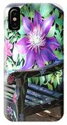 Flower Bench IPhone Case
